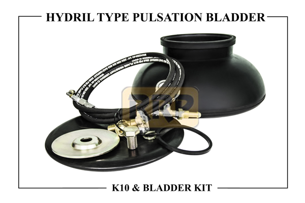 HYDRIL K10 Pulsation Bladders/ Dampener and Bladder Kits