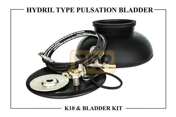 HYDRIL K10 Pulsation Bladders/ Dampener and Bladder Kits