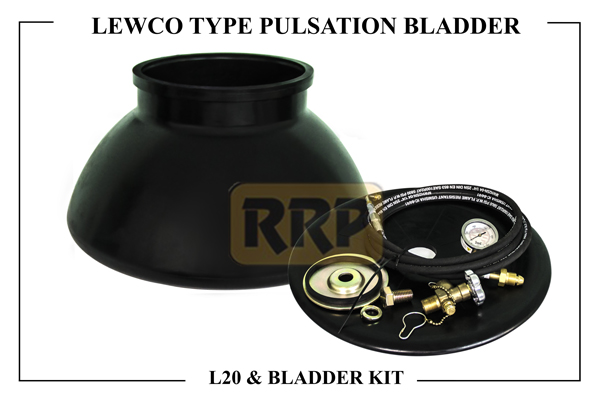 Lewco L20 Pulsation Bladders, Pulsation Bladders for Reciprocating Pumps, Emsco Style Dampener Bladders and Accessories, Hydril Style Dampener Bladders and Accessories, 1 Gallon PPD Diaphragm NBR, Production pulsation Dampener (PPD), Drilling pulsatiion Dampener (DPD)