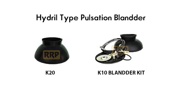 Hydril pulsation bladder