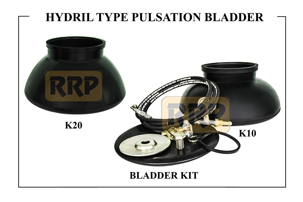 Pulsation Bladder, Pulsation Dampener Bladder, Pulsation Dampener replacement parts, Pulsation bladder and kits, K20 pulsation bladder