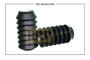 swab cups, Type SV cups, mv swab cup, Light Load Swab cups, BV series Swab cup